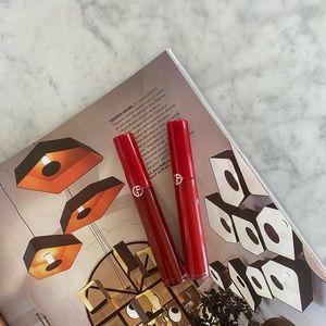 Giorgio Armani Lip Maestro Liquid Lipstick Reds